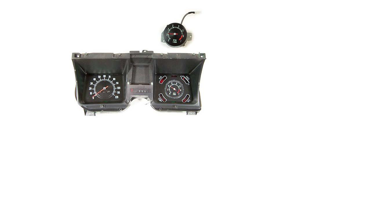 East Coast Chevelle Restoration Car Parts 1968 Roadrunner Wiring Diagram Also Fuel Gauge Tachometer Conversion