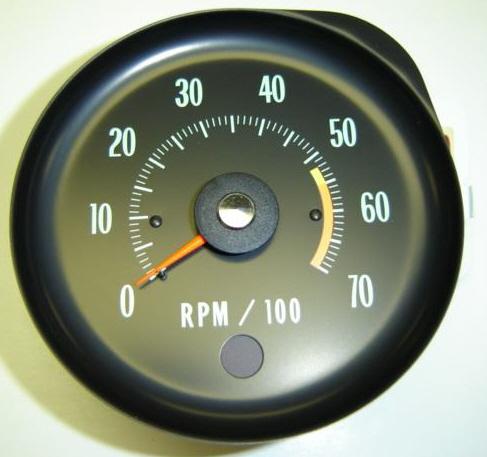 1970 chevelle ss tachometer 5500 rl