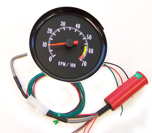 wiring for 1972 chevy tach